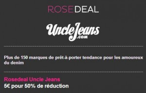 bons de réduction UncleJeans