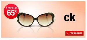 déstockage de lunette de soleil CK