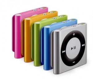 iPod SHUFFLE Apple 2GO (silver, rose ou jaune) 100% remboursé