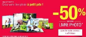 code promo espace photo auchan 50 sur livre photo retrait gratuit. Black Bedroom Furniture Sets. Home Design Ideas