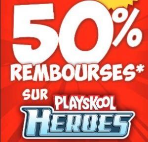 remboursement Playskool Heroes