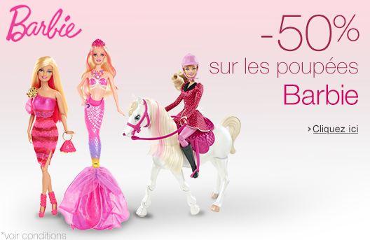 Bon plan Barbie moitié prix