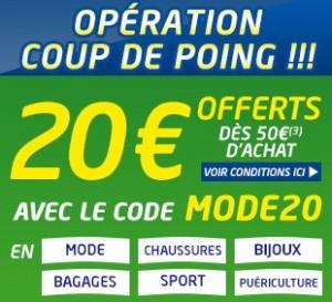 Bon plan Mode : 20 euros offerts dès 50 euros chez Cdiscount