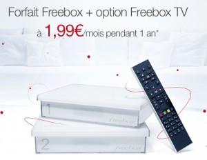 Free Box à moins de 2 euros/mois