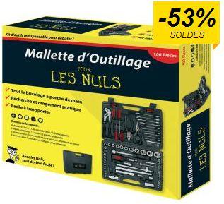 Moins de 40 euros la mallette d'outillage 100 pièces POUR LES NULS