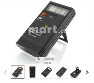 Moins de 9 euros le détecteur de rayonnement électromagnétique des appareils électriques