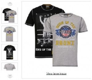 T-shirts Everlast Noir