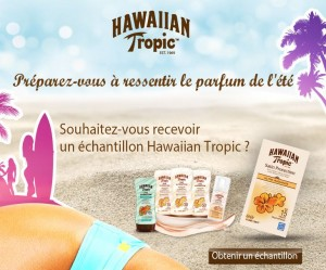 échantillon Hawaiian Tropic gratuit