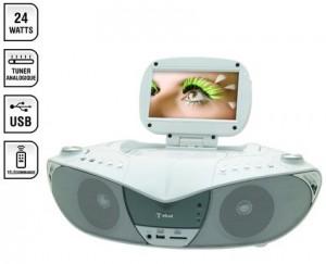 lecteur CD/ DVD avec tuner TNT / Radio intégré TOKAI en soldes