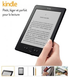 liseuse Kindle Amazon à 49 euros port inclus
