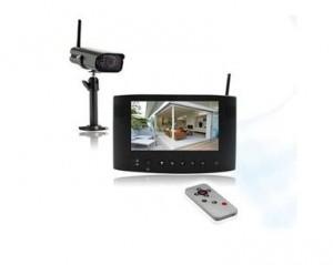 moins de 150 euros le kit de videosurveillance sans fil Extel