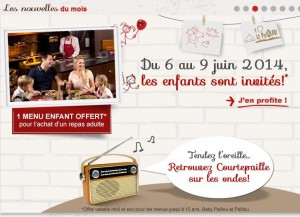 repas enfant GRATUIT