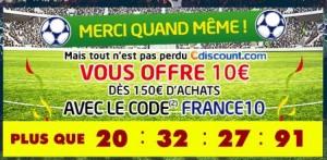 Cdiscount : 10 euros de remise pour 150 euros d'achats