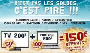 Bon plan CDiscount : 20, 50 ou 100 euros offerts sur votre achat