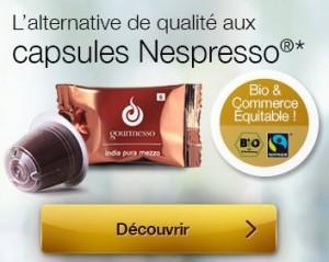 Bon plan capsules Nespresso