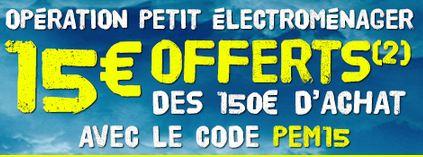 15 euros de remises sur le petits lectrom nager pour 150 euros d achats chez cdiscount. Black Bedroom Furniture Sets. Home Design Ideas