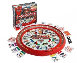 Jeu de société Monopoly Cars 2 qui revient à moins de 5 euros