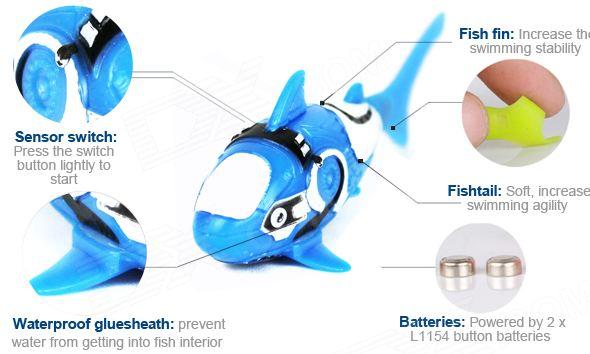 Moins de 3 euros le Robot Fish