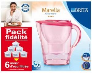 Pack carafe filtrante Brita