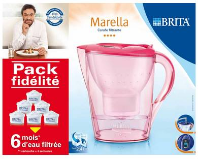 pack carafe filtrante brita pas cher carafe 6. Black Bedroom Furniture Sets. Home Design Ideas