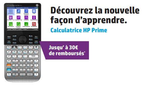 Remboursement calculatrices HP 2014