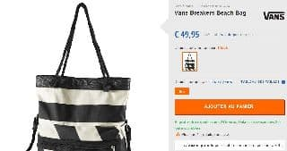 Sac de plague Breakers Beach BagVans