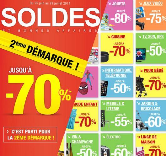 Soldes Auchan : la nouvelle démarque