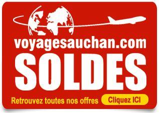 Soldes séjours chez Auchan Voyage
