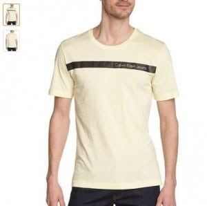 T-shirt homme Calvin Klein à moins de 12 euros