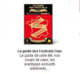 guide des festivals de cet été