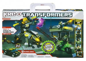 jeu de construction KRE-O Transformers Playset Bumblebee