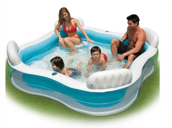 piscine gonflable avec sièges Intex