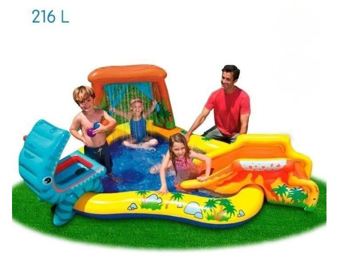 piscine / jeu gonflable Dinosaure Intex
