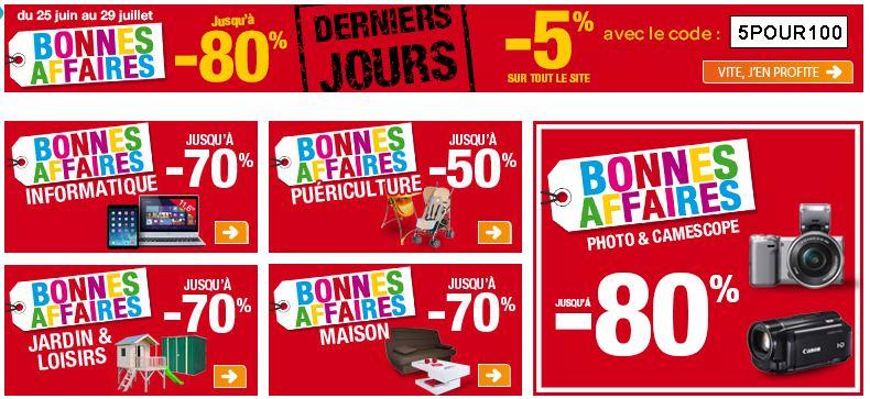 remises immédiates sur tout Carrefour