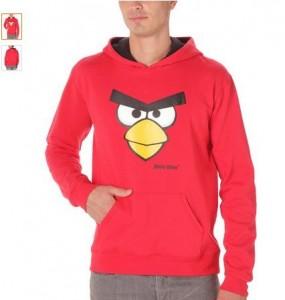 sweat à capuche Angry Birds à moins de 8 euros