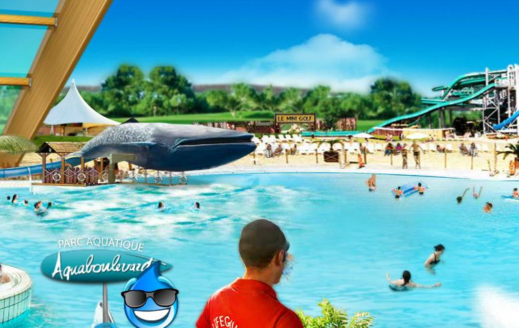 Abonnement aquaboulevard 1 an pour 99 euros au lieu de for Aquagym piscine paris