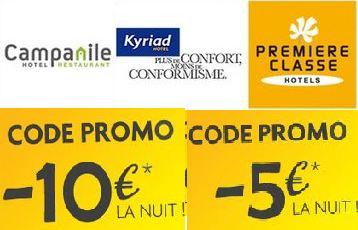 10 euros de remise sur votre Hotel