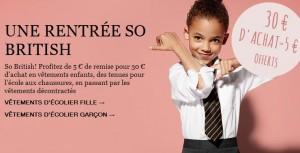 5 euros de remises Marks & Spencer