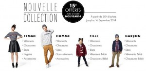 Bon plan mode ! 15 euros offerts pour 50 euros d'achats sur Amazon