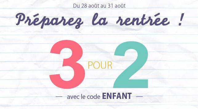 Rayon enfant brandalley 2 achet s 1 gratuit jusqu dimanche - Code promo les enfants du design ...