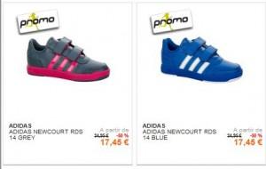 Chaussures Adidas enfant à moins de 18 euros au lieu du double