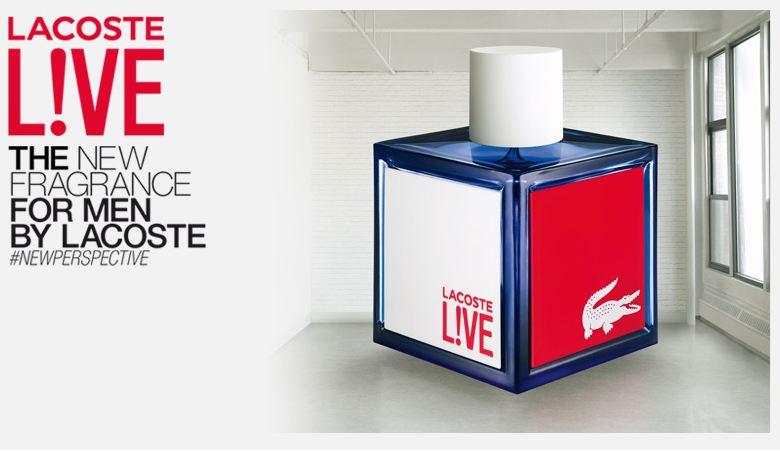 Echantillon gratuit Lacoste L!VE