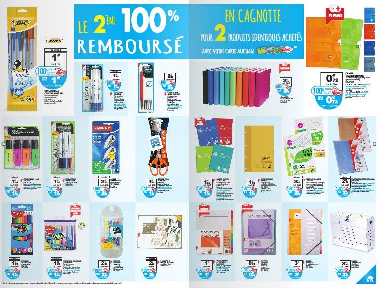 Bon plan fournitures scolaires le 2 me article 100 - Colle cleopatre auchan ...