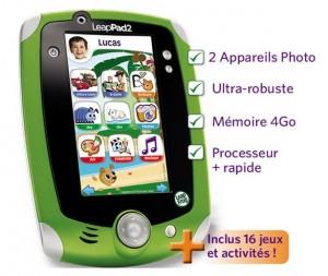 LeapPad 2 de LeapFrog à moins de 40 euros