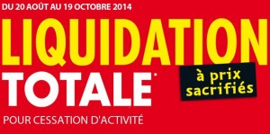Liquidations total magasins Atlas