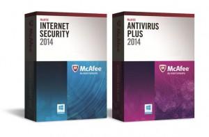 McAfee Antivirus Plus 2014 ou Internet Security 2014
