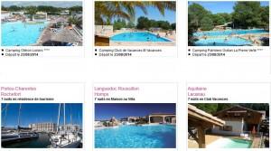 Vente Flash Locations de vacances