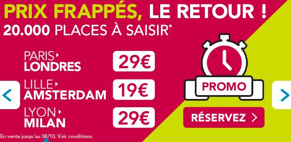 iDBUS ! 29 euros Paris-Londres ou Lyon-Milan, 25 euros Marseille-Barcelone, 19 euros Lille-Amsterdam