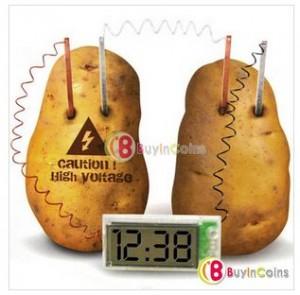Kit expérience pomme de terre pendule à 1,79 euros.