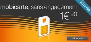 moins de 2 euros (port inclus) de téléphoner et envoyer des SMS en illimite le soir, avoir accès au point Wi-Fi d'Orange gratuit et même 5 euros de crédit de communication
